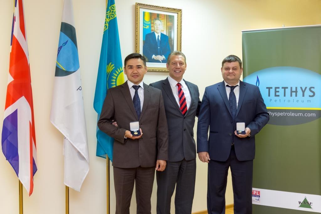 Honours for Akkulka Oil Field Discovery