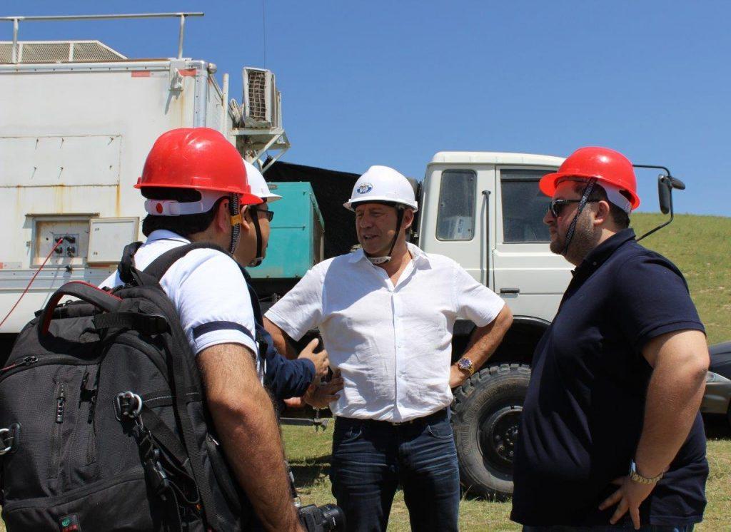 Senior Management's visit to Tajikistan